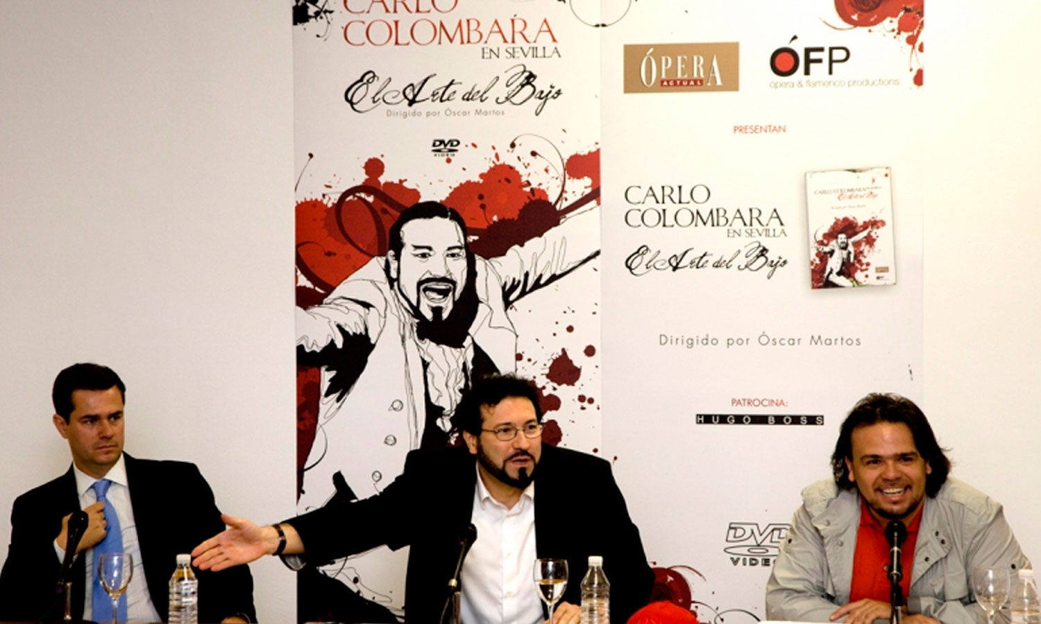 PRESS CONFERENCE DVD LAUNCH CARLO COLOMBARA  SEVILLE/SPAIN // 2008 //